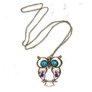 🆕Adorable Owl Necklace 🦉